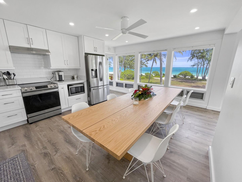 Kitchen - The kitchen view even 5 star chefs dream of