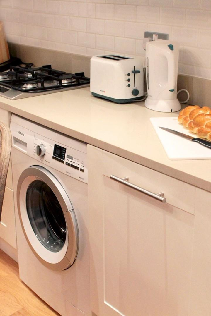 Washer and separate dryer a very handy feature!