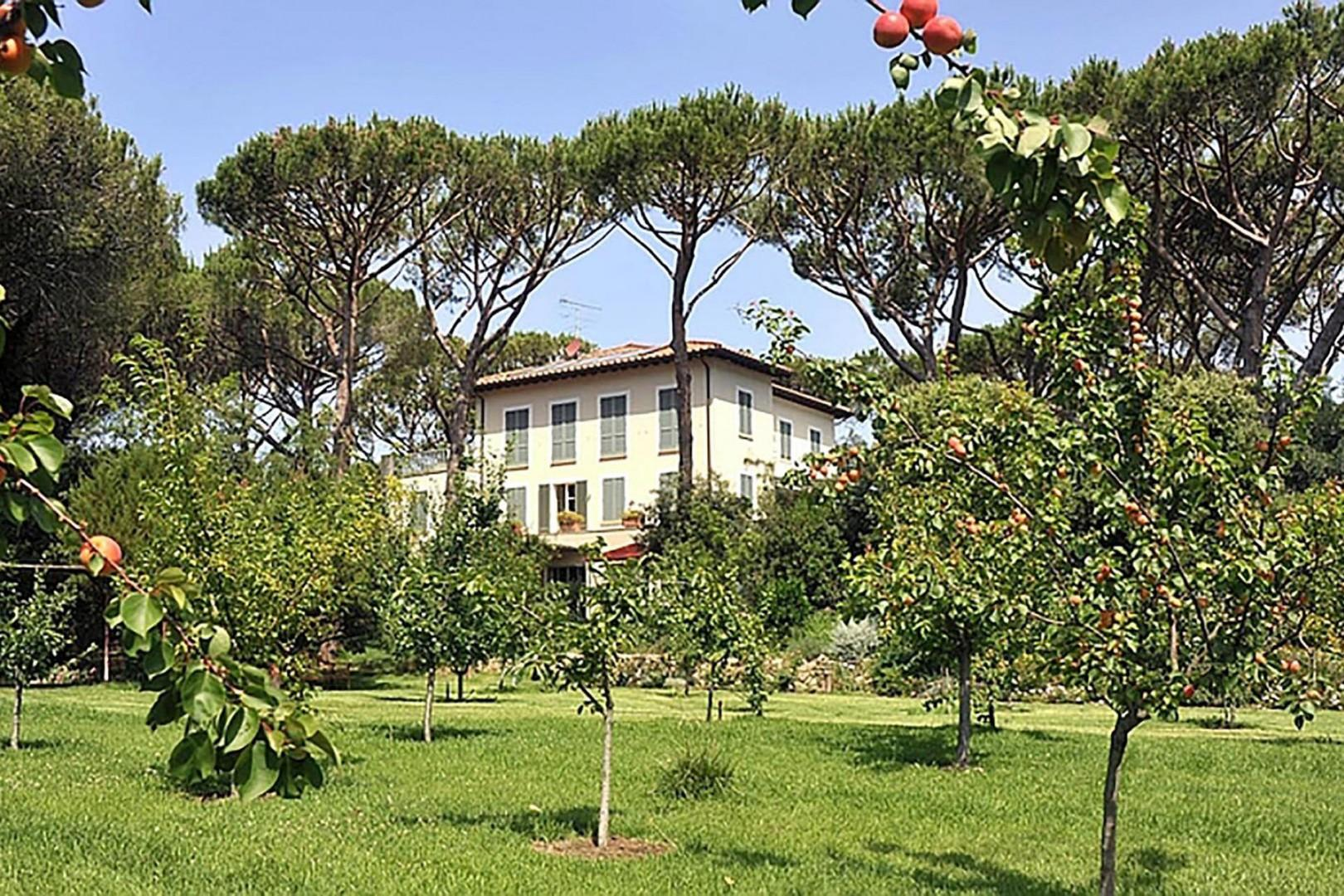 The lushly landscaped Destino Villa is what Tuscan dreams are made of.