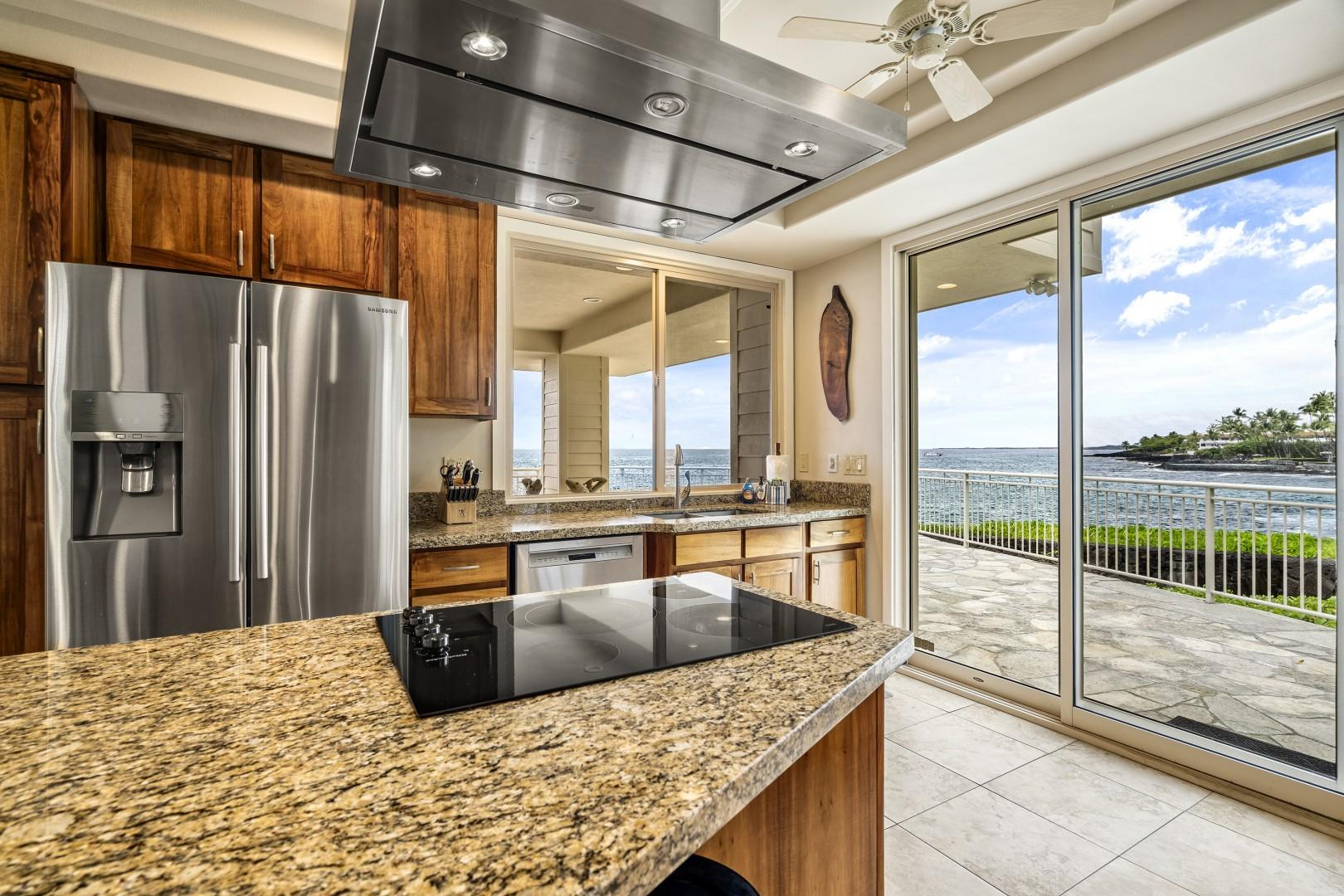 Stainless steel appliances throughout!