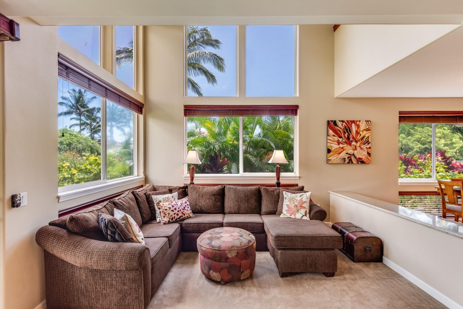 Floor-to-Ceiling Windows Bring the Beautiful Outdoors In!