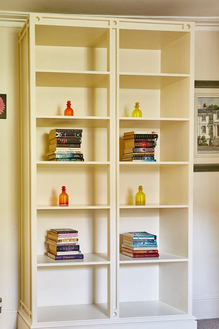 Large bookcase perfect for storing little toys and nick nacks