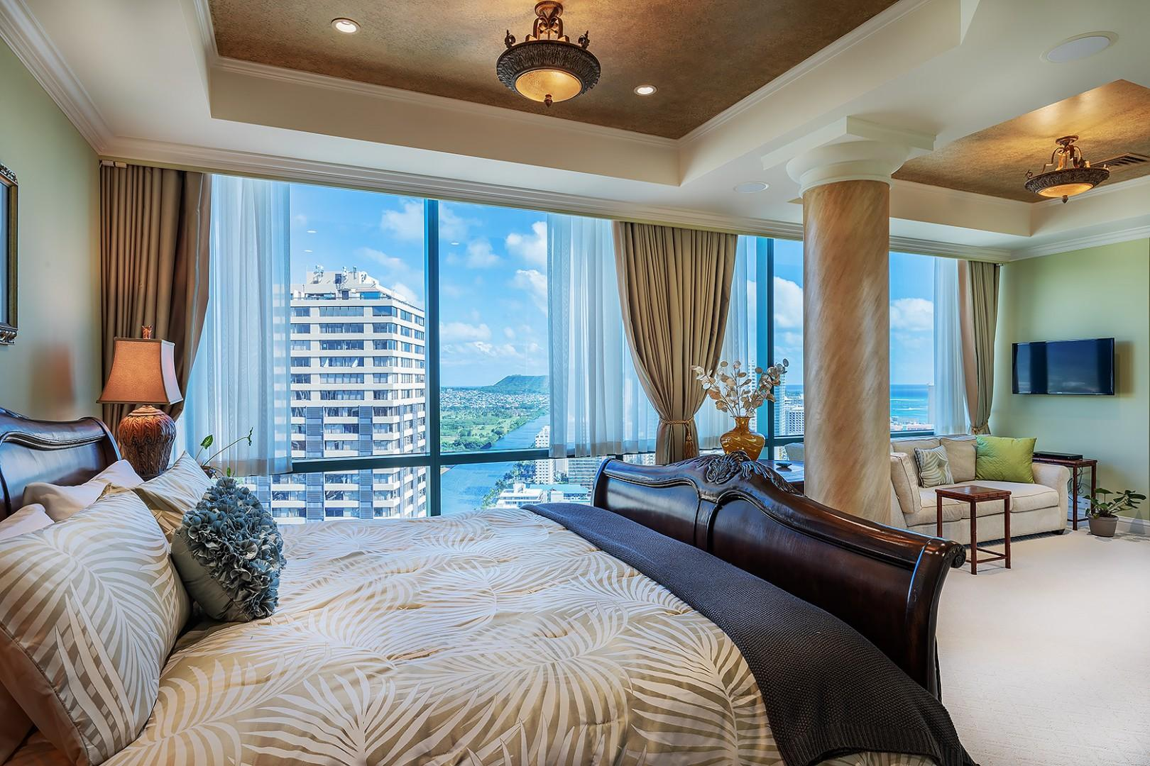 Guest Bedroom Suite with King Size Bed