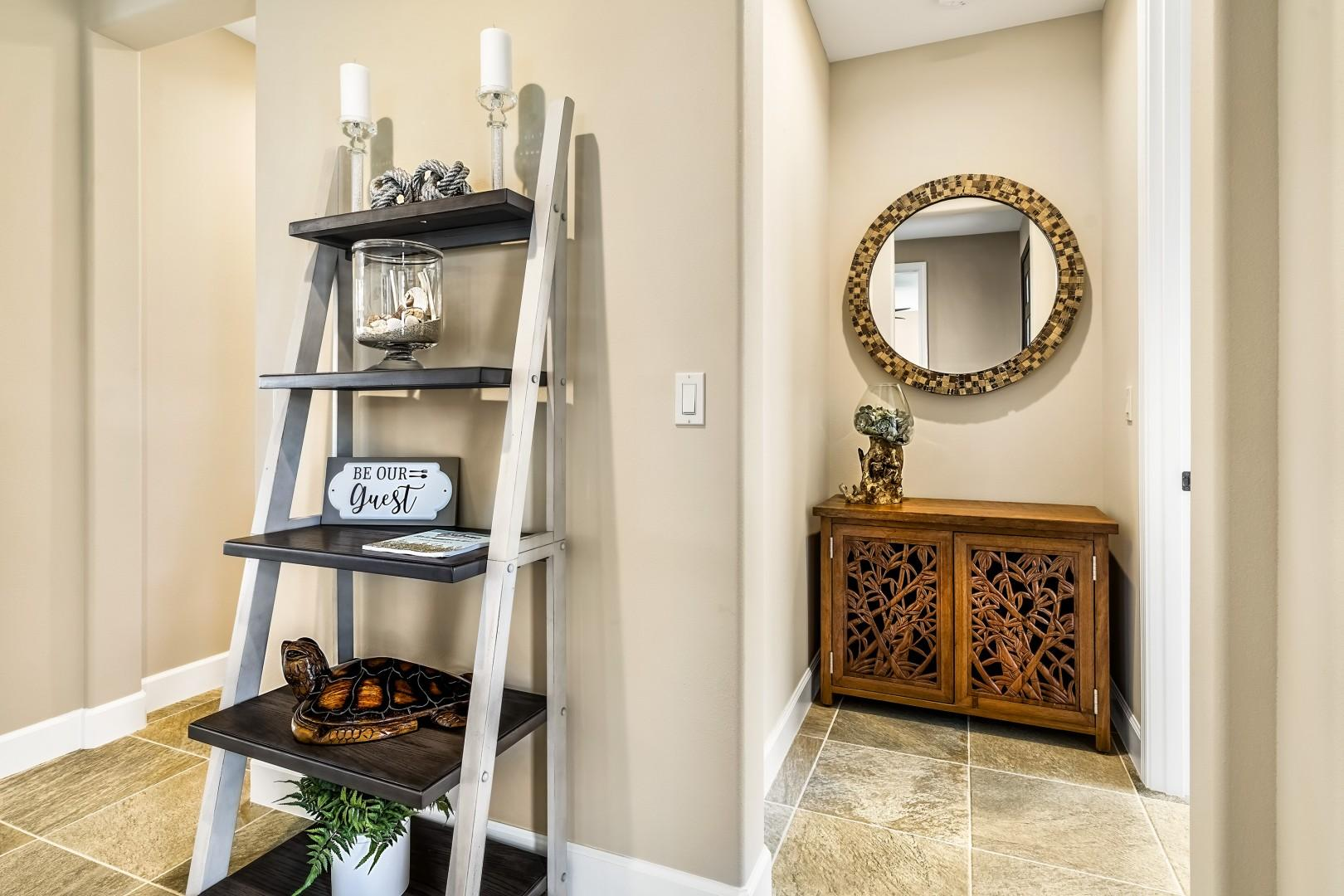 Attractively appointed foyer