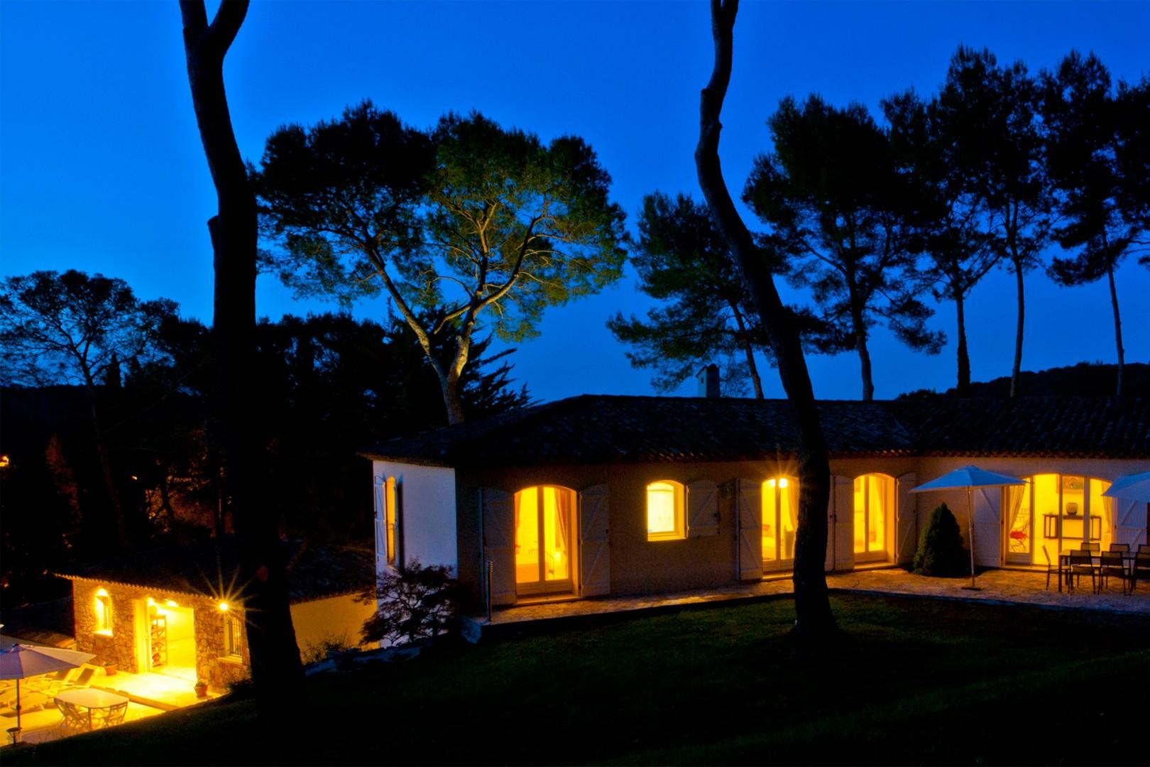 Gaze at the stars from your private garden