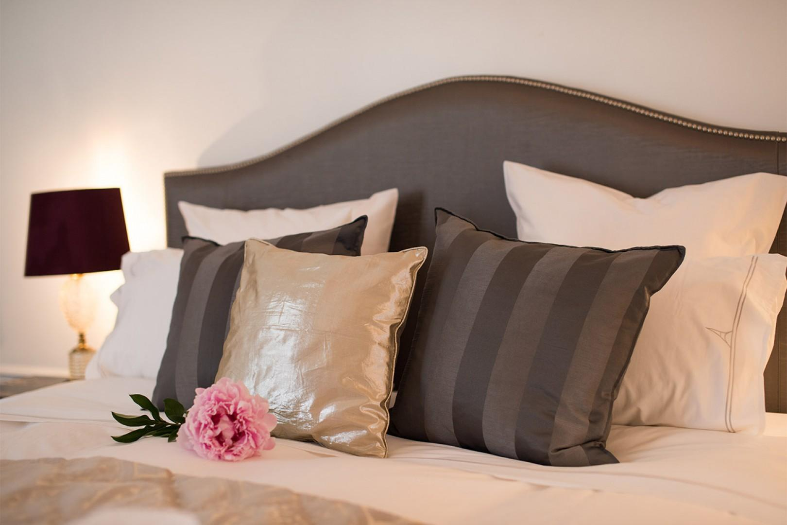 Enjoy lazy mornings in bed during your stay!