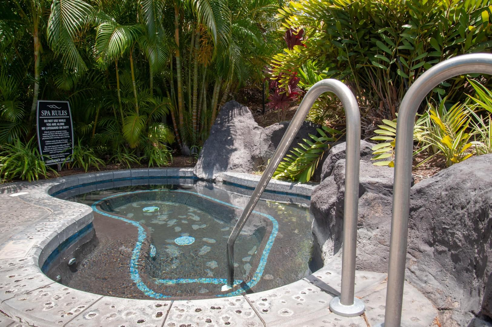 Jacuzzi Spa Directly Across From Villa