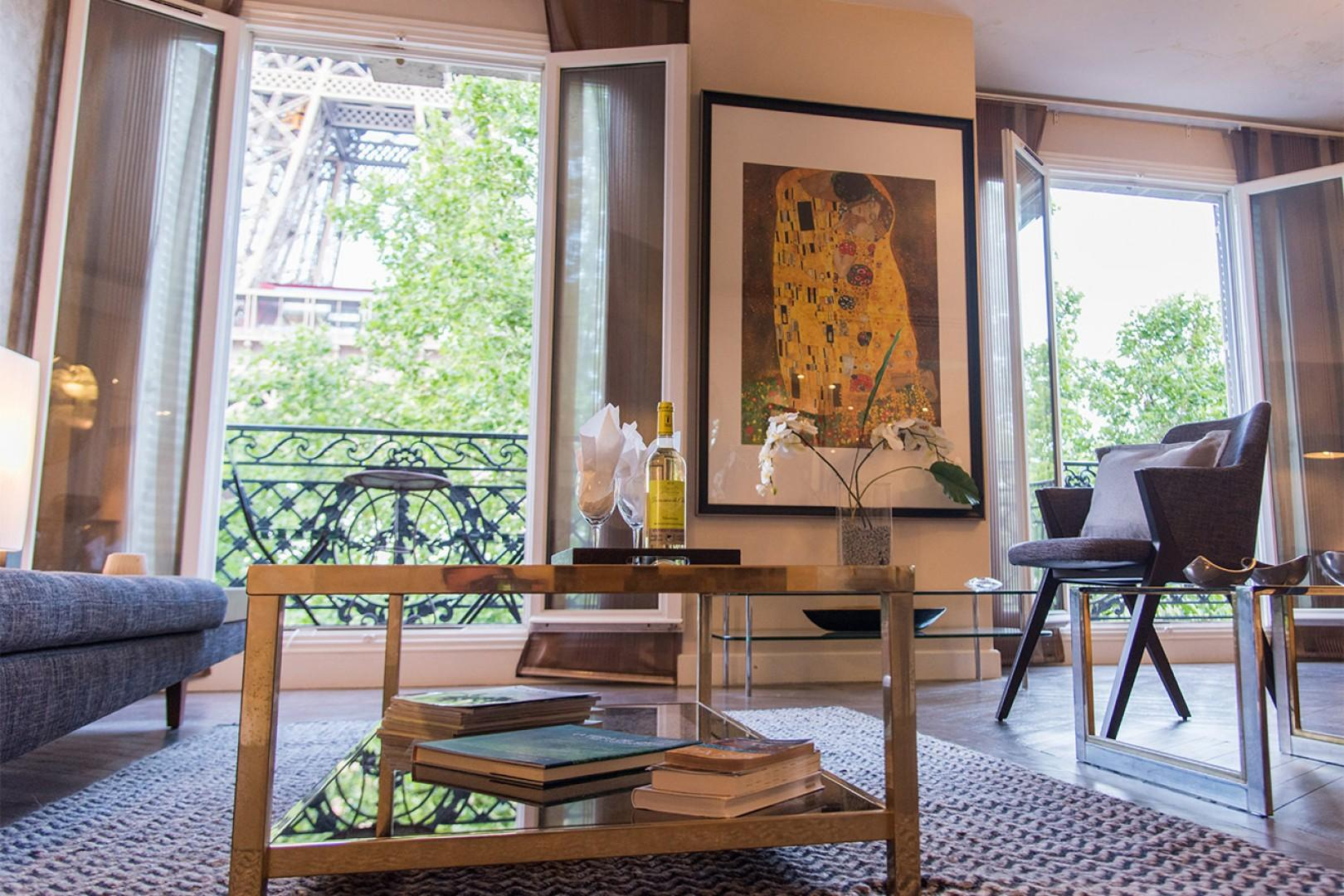 The highlight of your day in Paris will be returning home to this spacious rental.