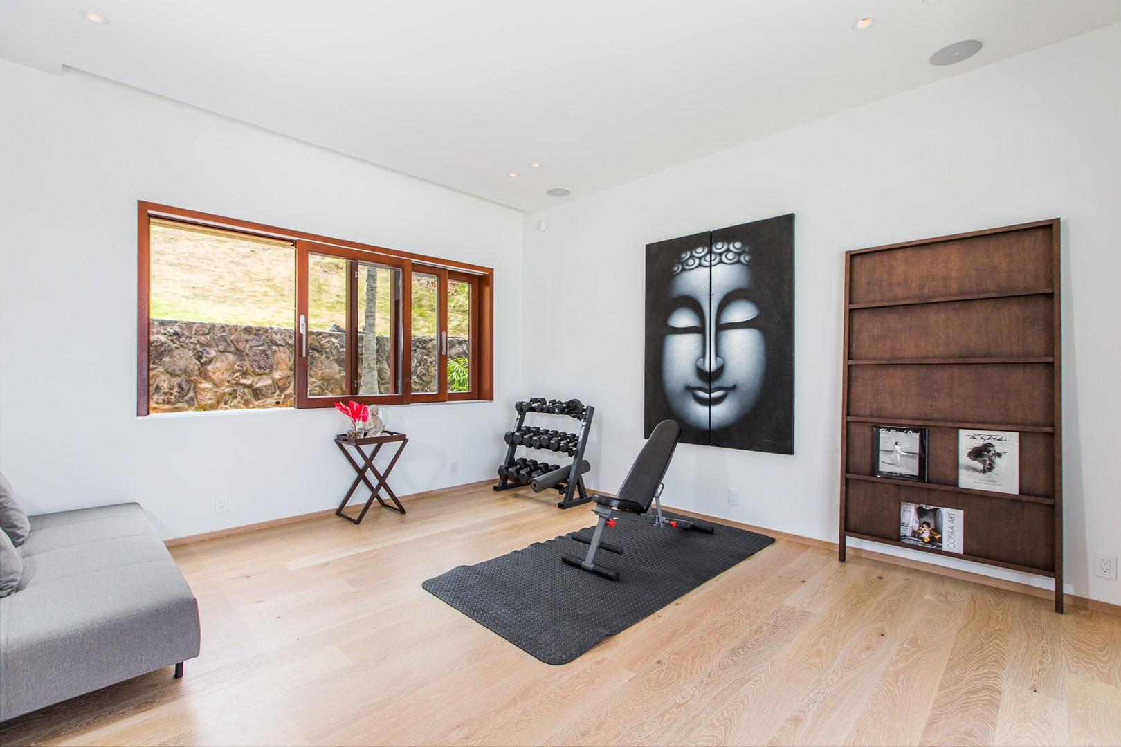 Gym/Yoga Room - Equipment must be rented