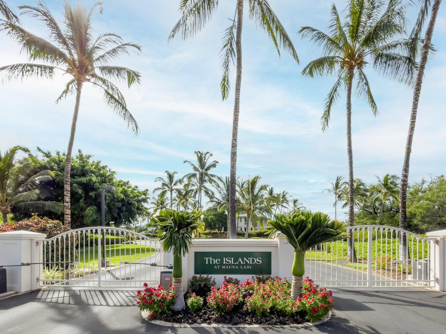 Gated Entrance to The Islands Private Community