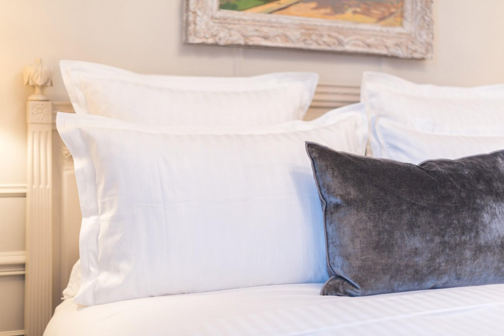 Our guests love the quality linens.