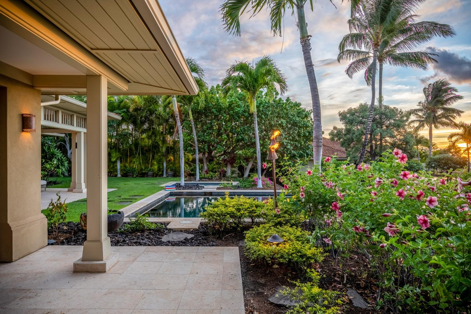 View from the master lanai daybed.