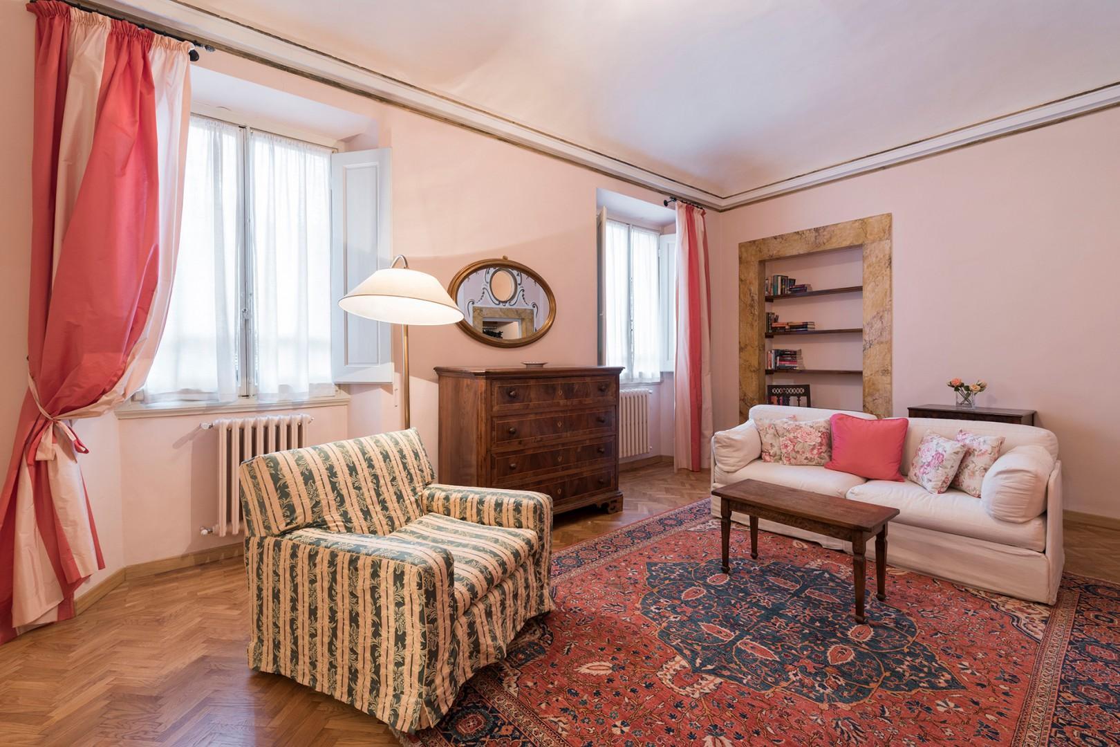 Bedroom 2 has it's own sitting area.