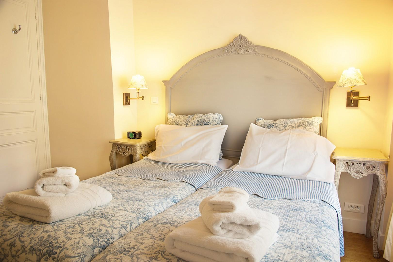 Get a good night's sleep in the luxury linens.