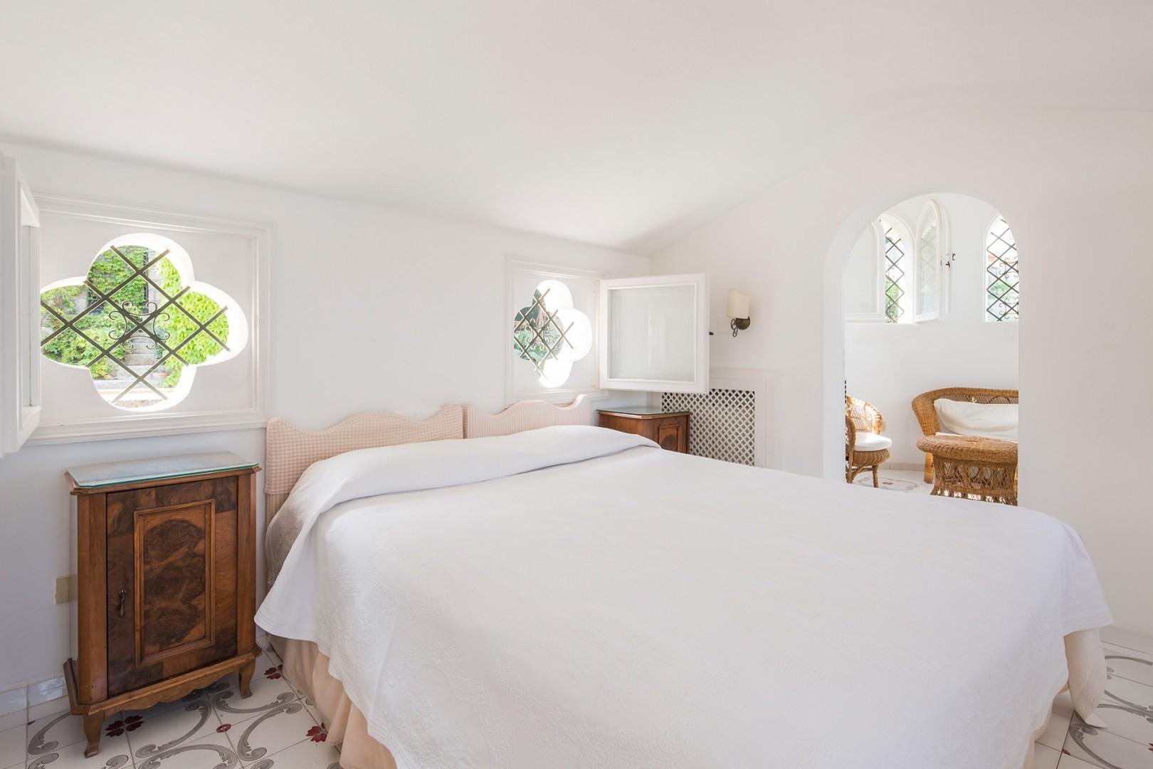 On the second floor, bedroom 3 has two beds that can be joined to form one large bed.