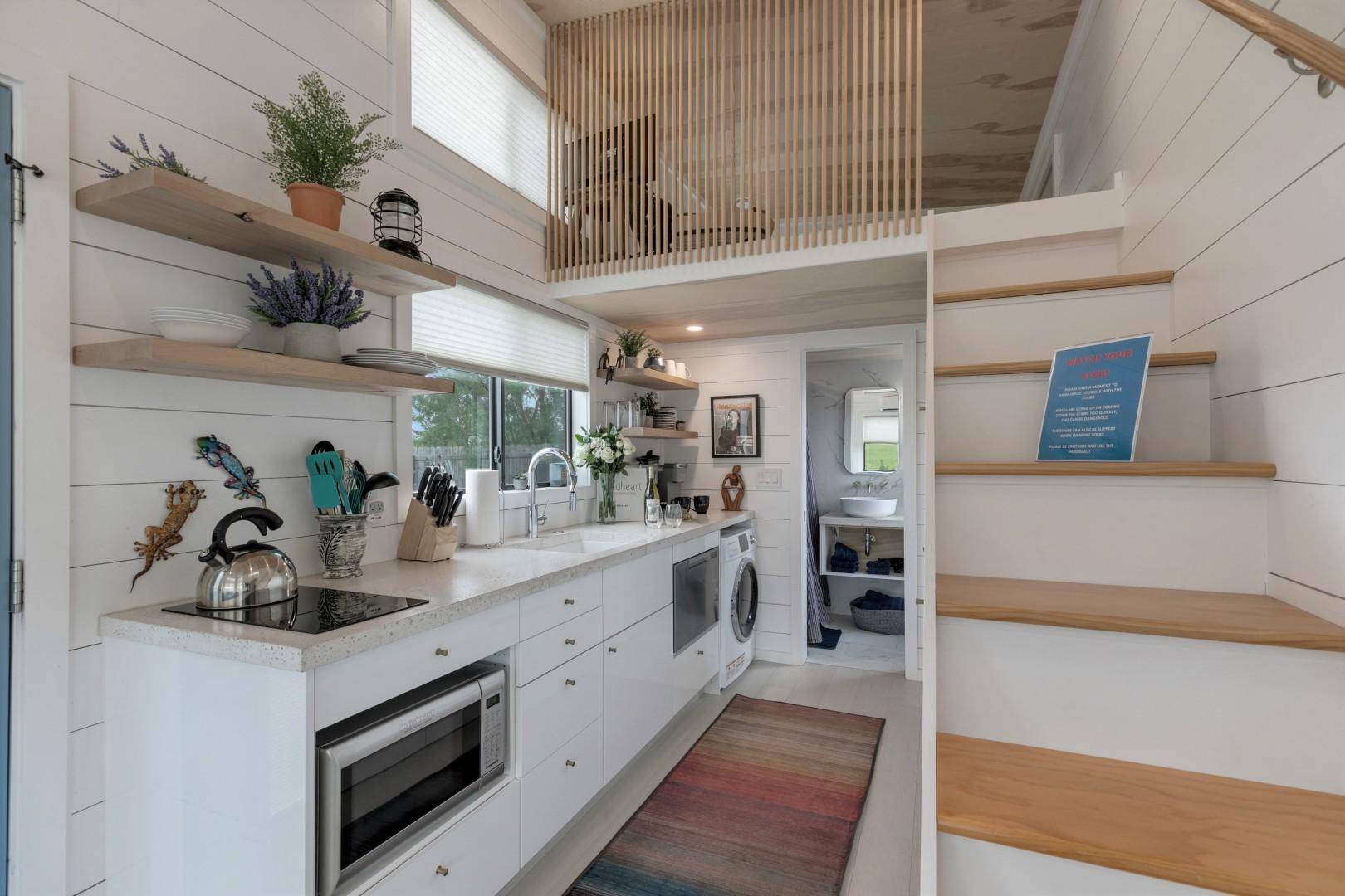 NEW! Luxury Tiny Home w/ Hot Tub&Grill