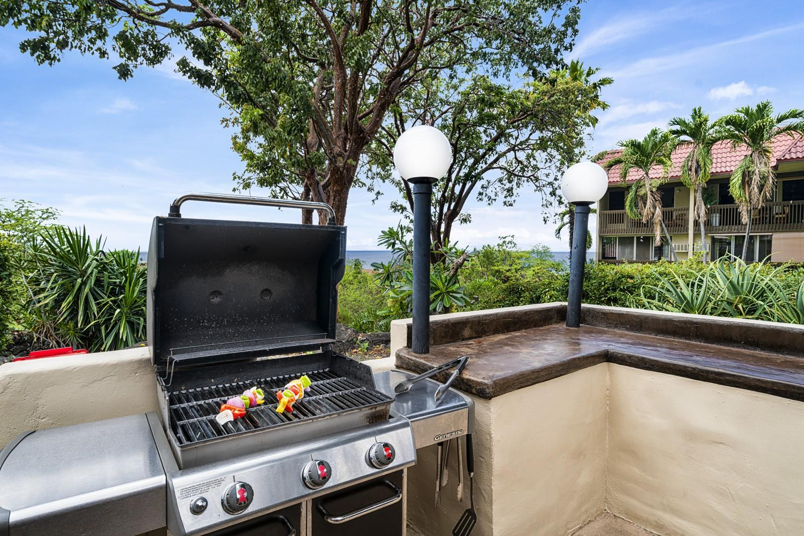 BBQ your favorite meals pool side!