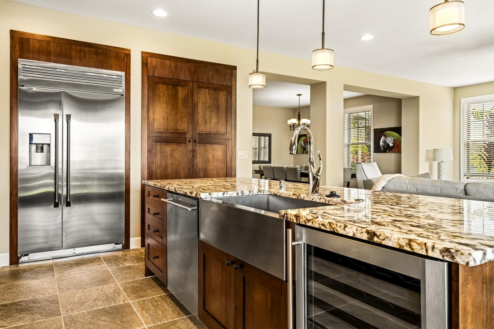 High end stainless appliances!