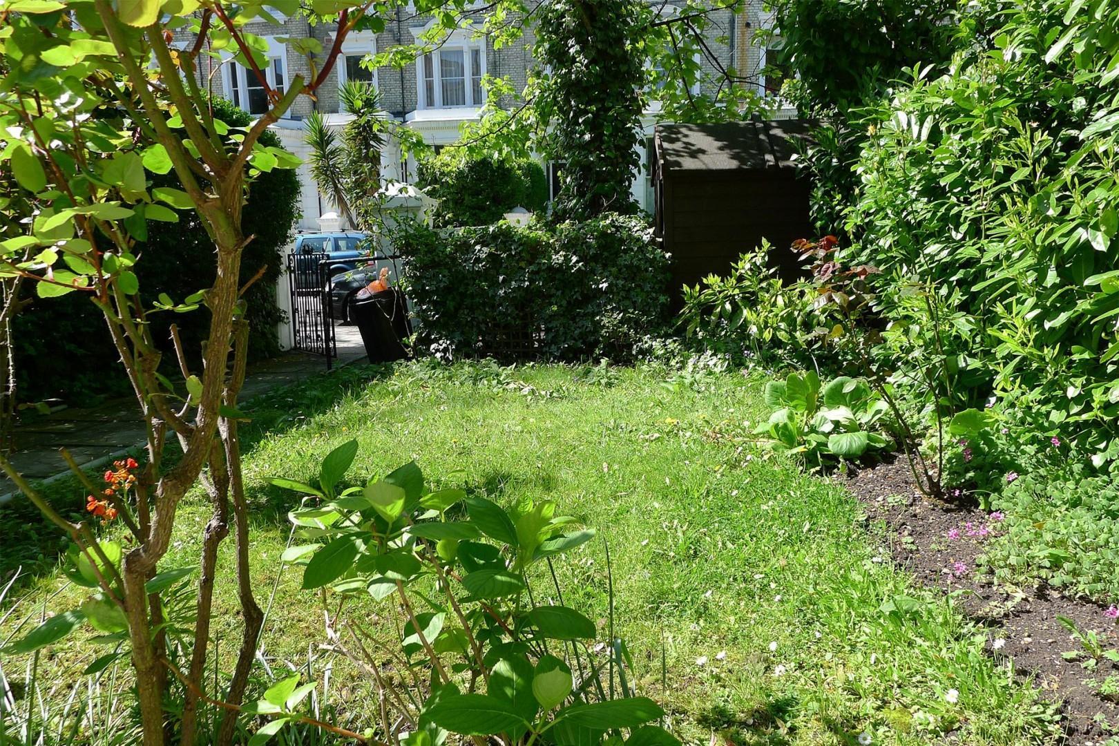 Luscious front garden