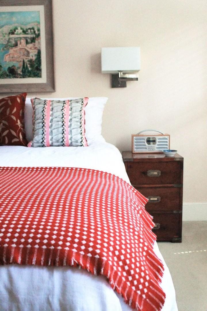 Beautifully decorated bedroom 2