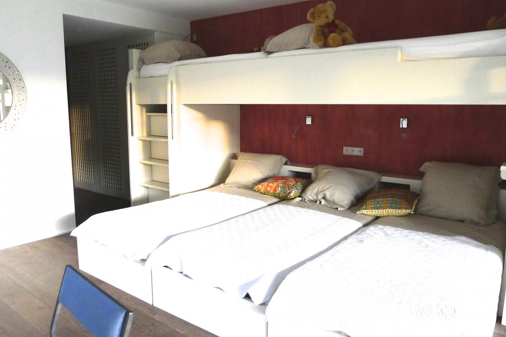 Enjoy a restorative night's rest in one of the comfortable bedrooms