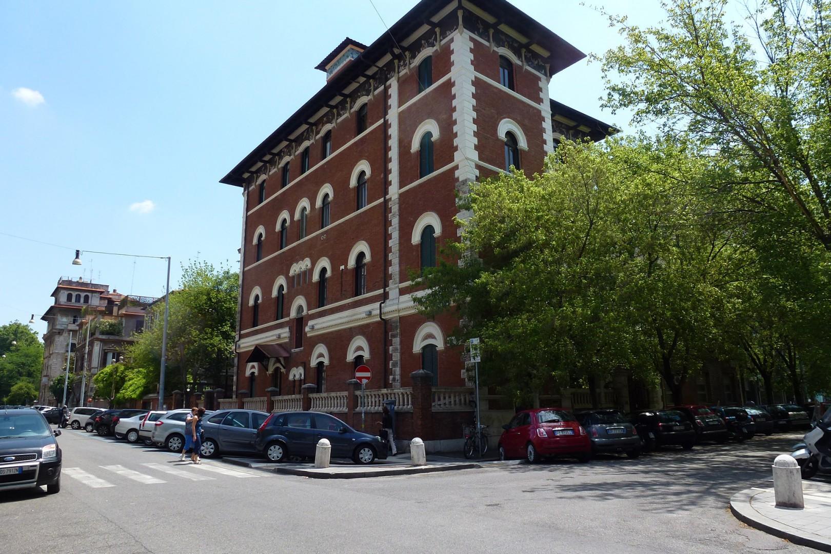 Adjoining building is an Art Nouveau landmark.
