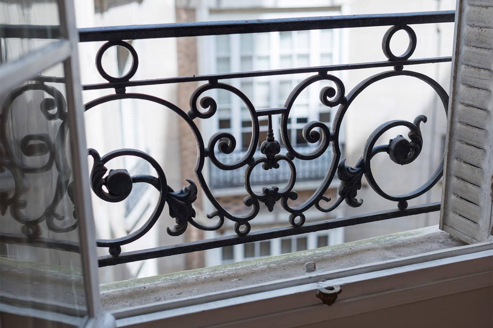 Classic Parisian ironwork