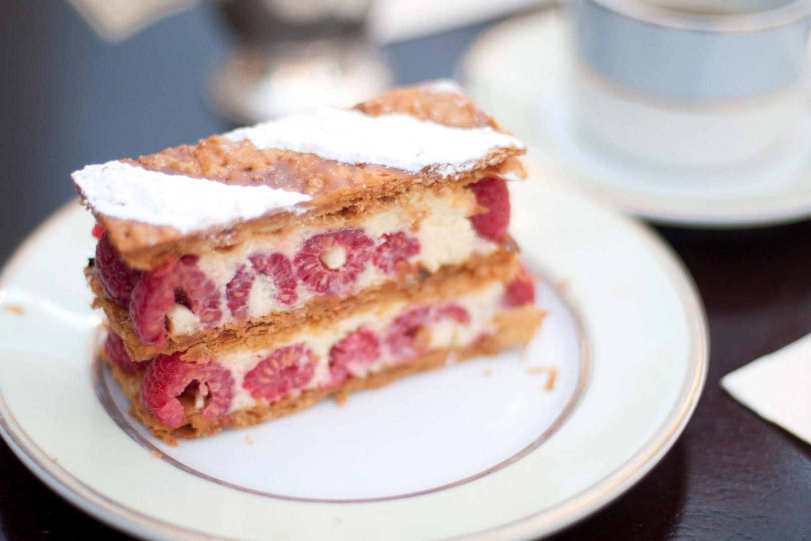 Raspberry Millefeuille