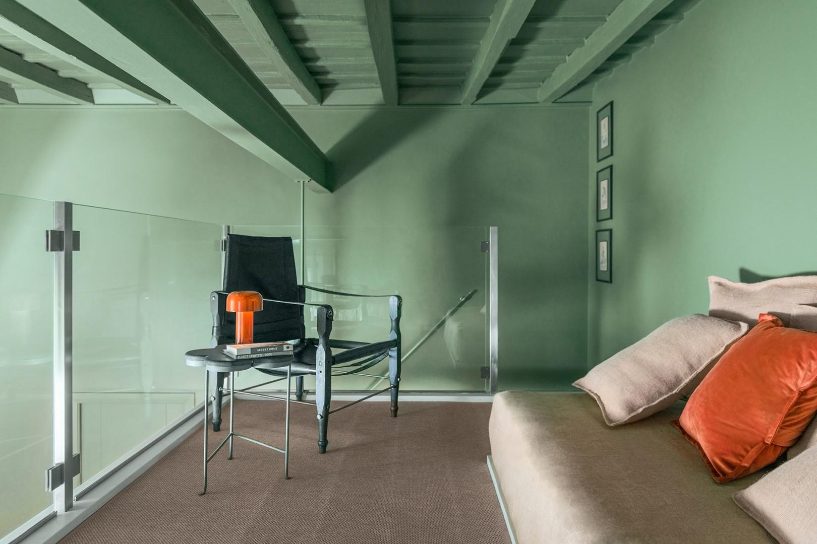 """The ceiling height in the loft is low, take note. Guests over 5'6"""" will hit their head."""