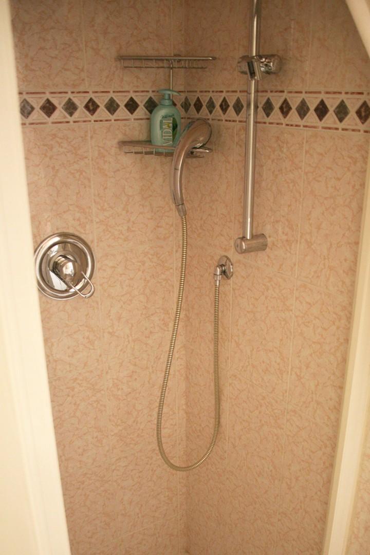 Shower in bathroom 2