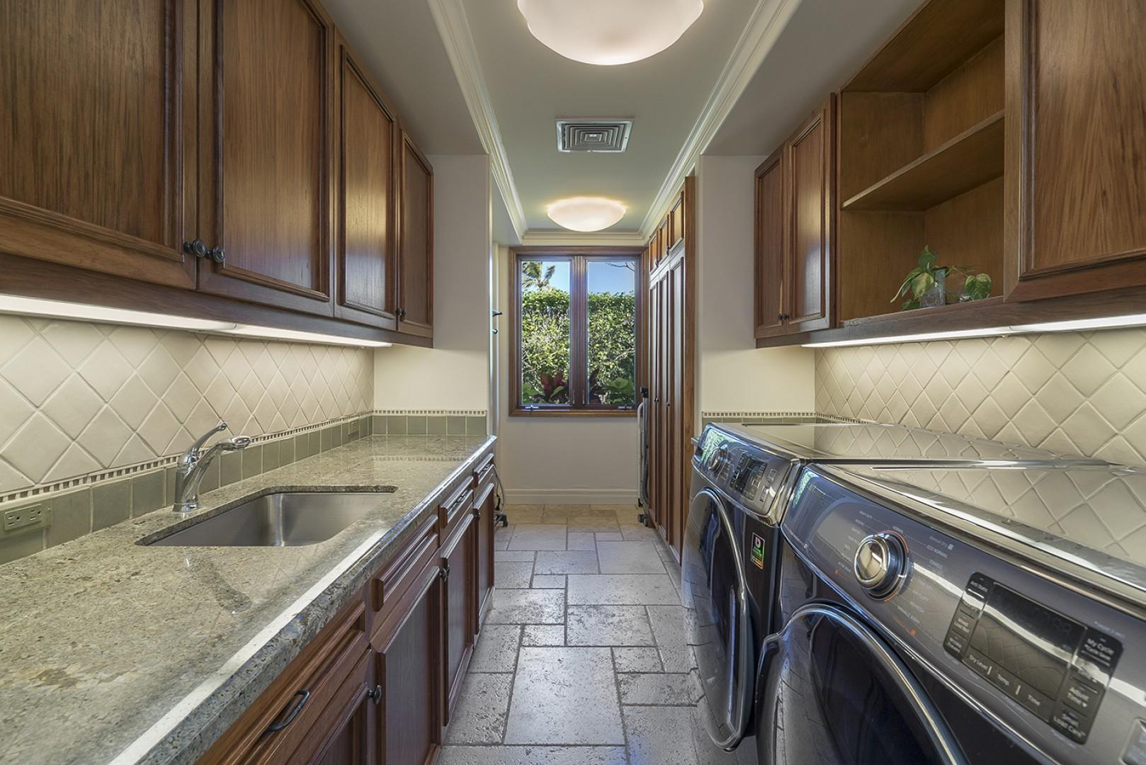 Main house: Laundry Room