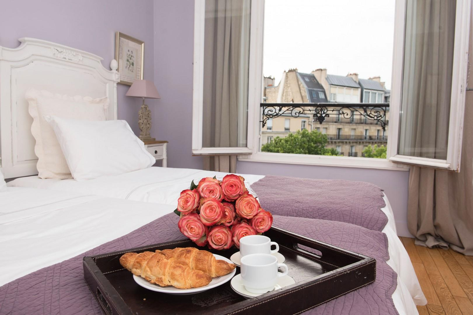 Sleep in and enjoy your breakfast in bed!