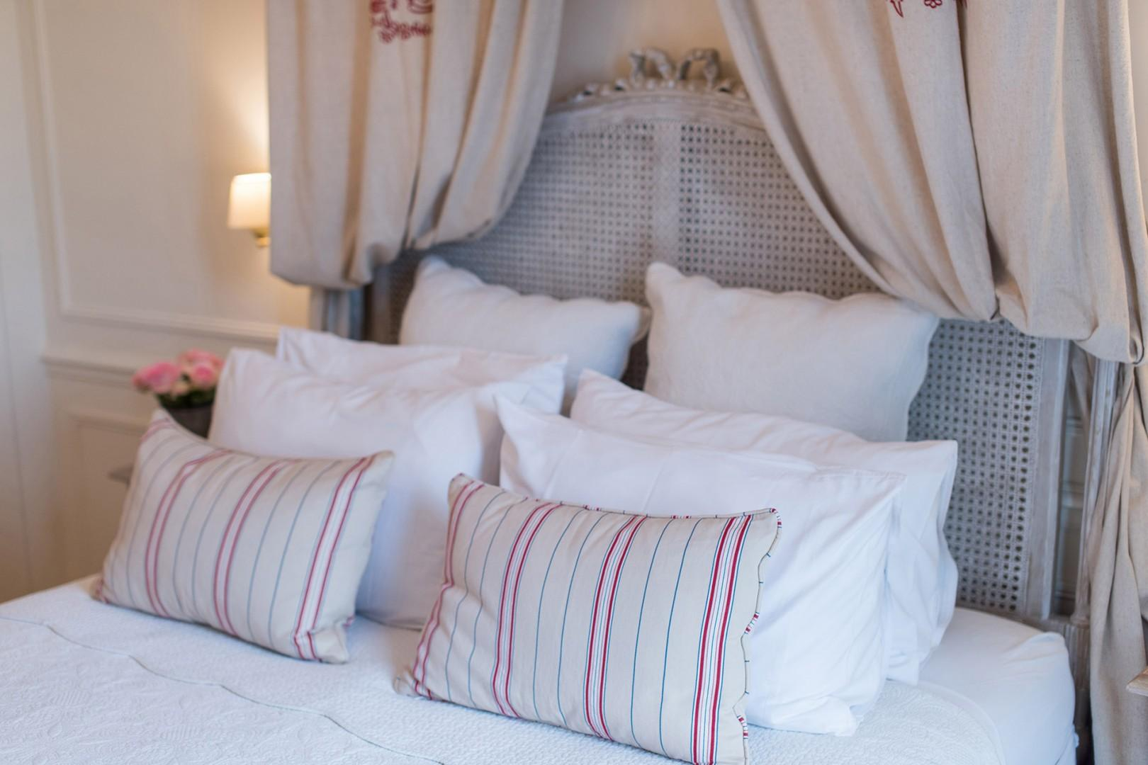 Sink into the luxurious bedding and get a good night's sleep.