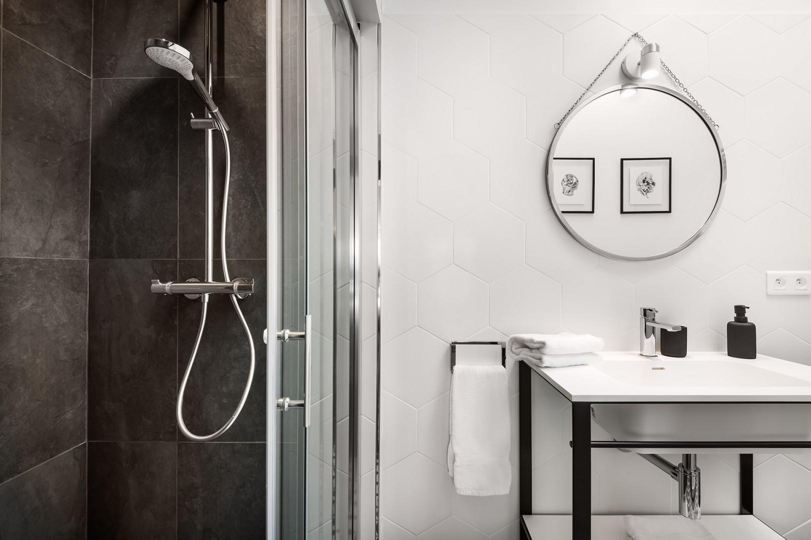 Enjoy the high-end amenities of bathroom 3.