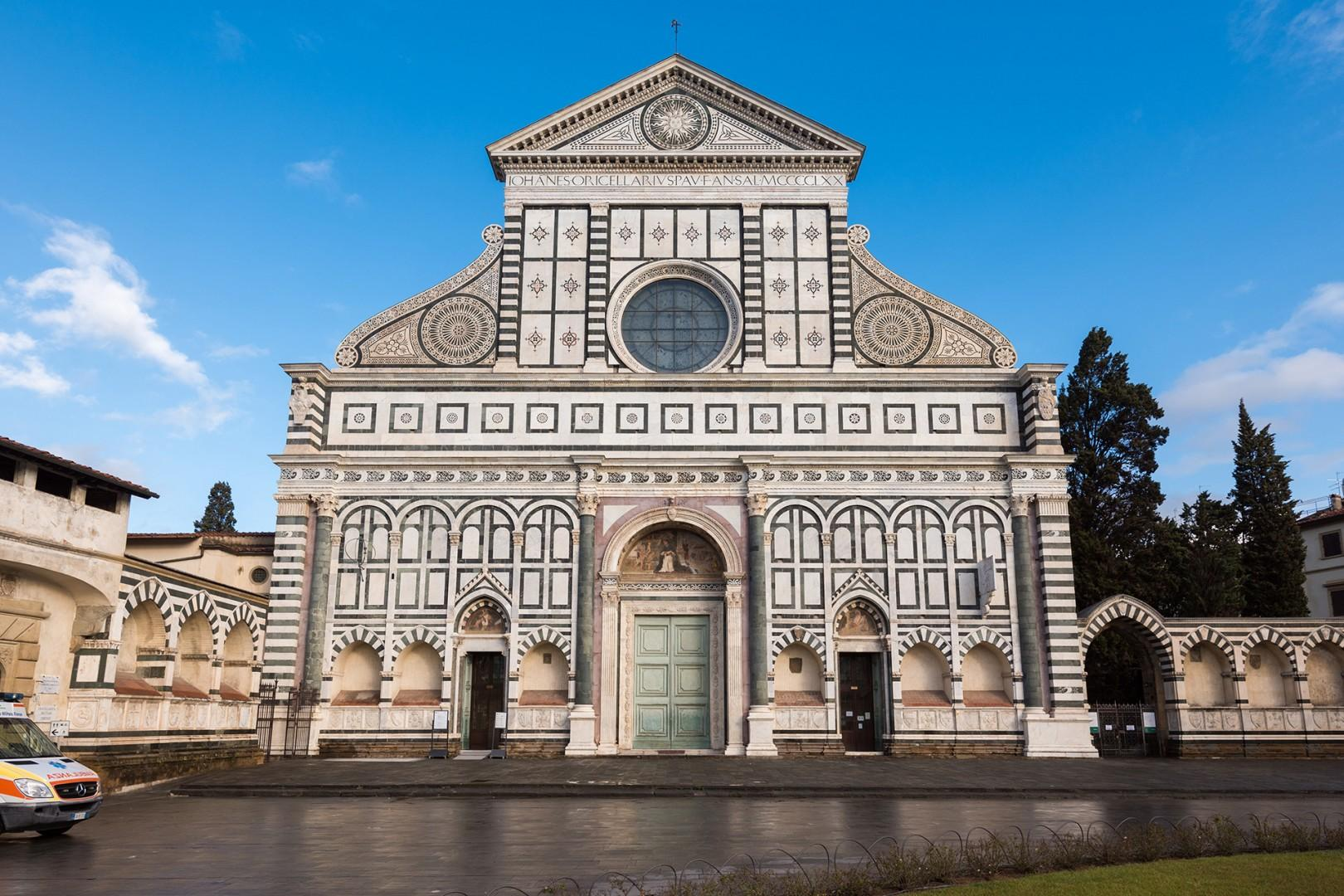 Santa Maria Novella is famous for its fascinating architecture and beautiful art.