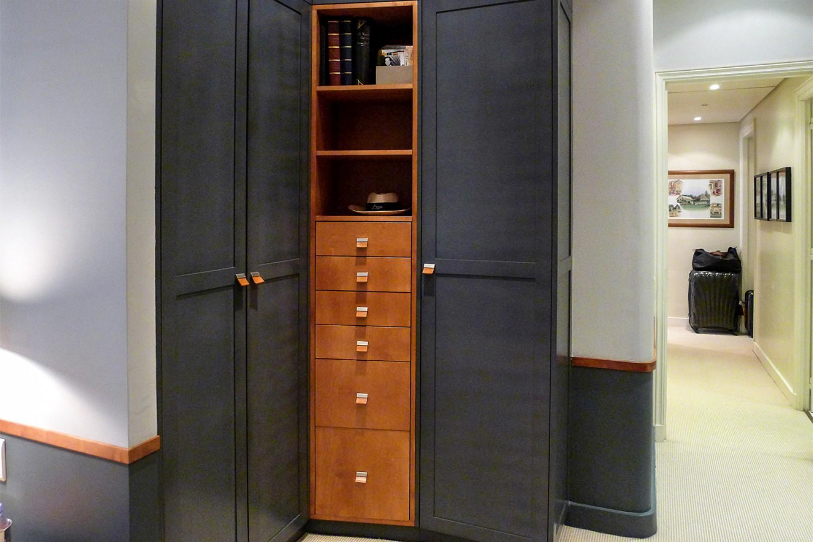 There is also a large built-in closet in bedroom 3.