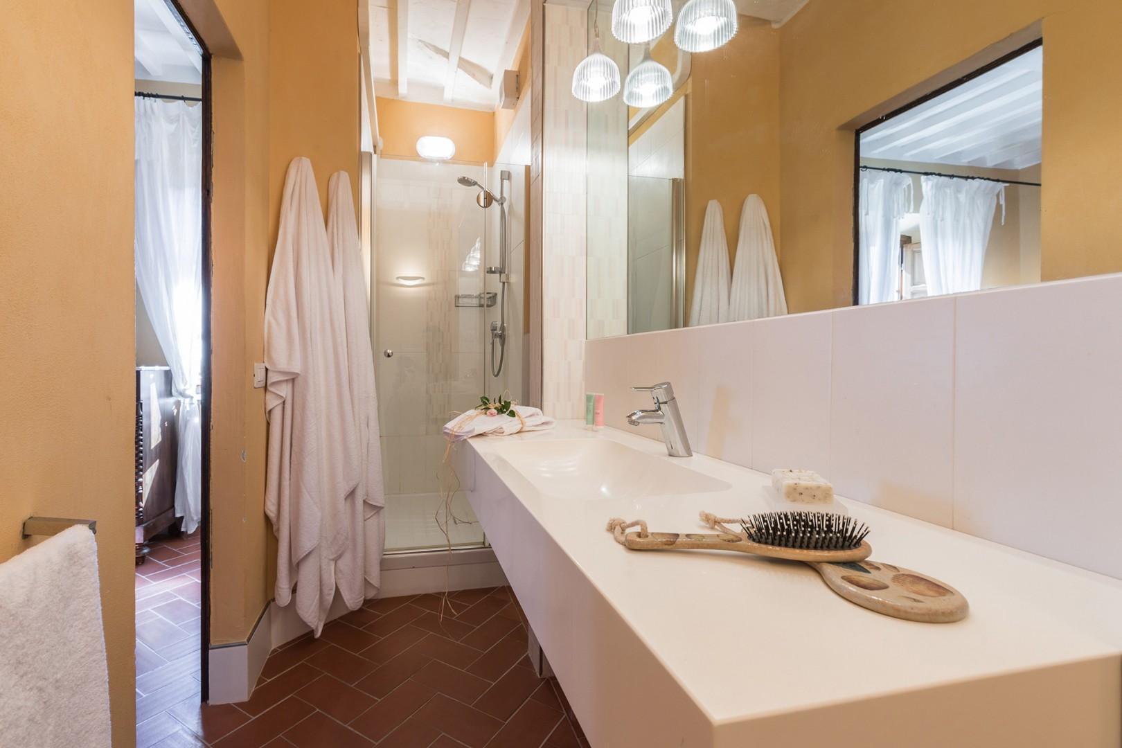 En suite bathroom to bedroom 5.