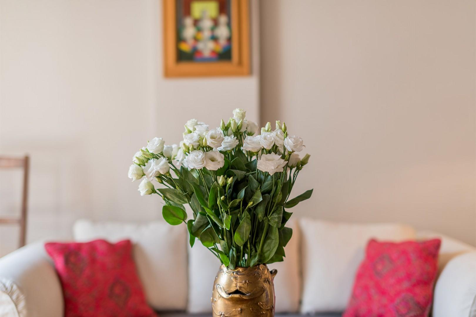 Bring home some fresh flowers from one of the local markets.