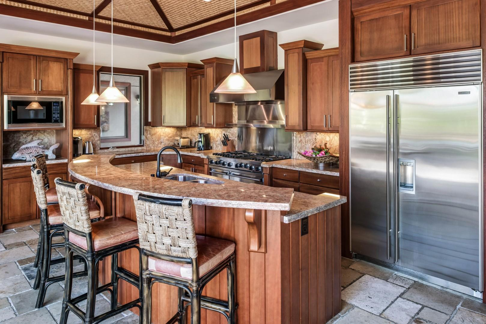 Gourmet Kitchen Designed for Cooking and Entertaining