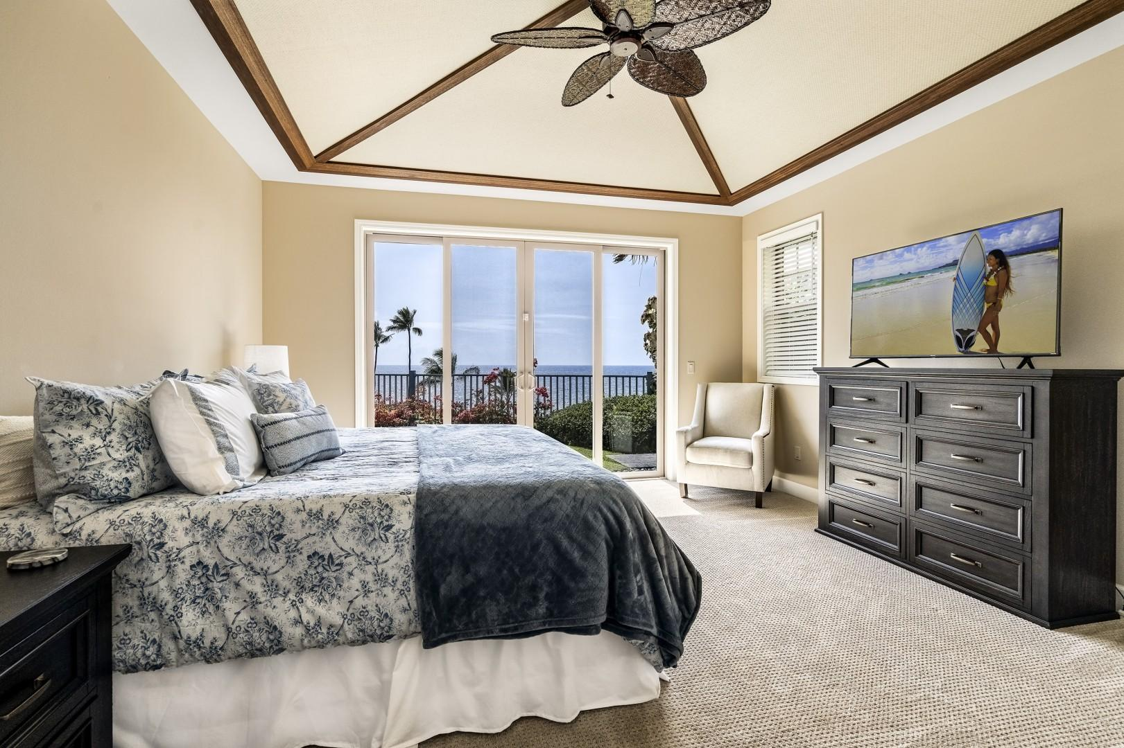 Take in the breathtaking views right from bed!