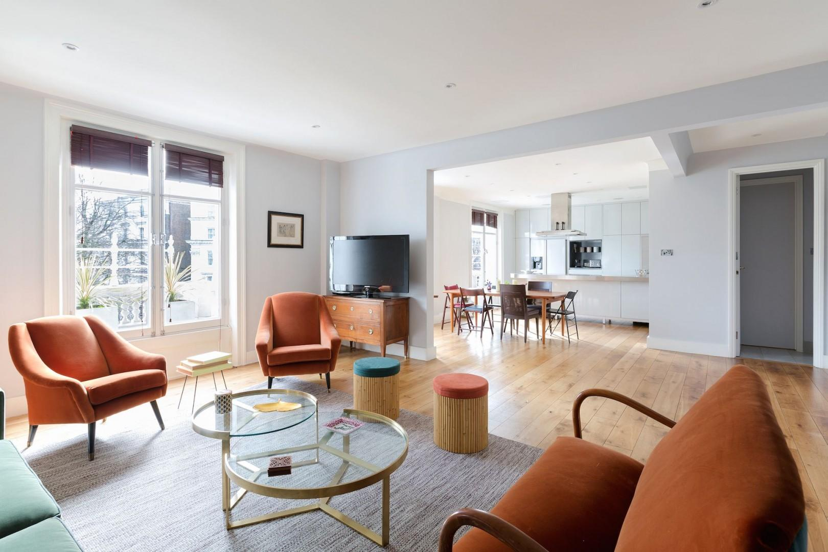 A classic apartment with modern comforts