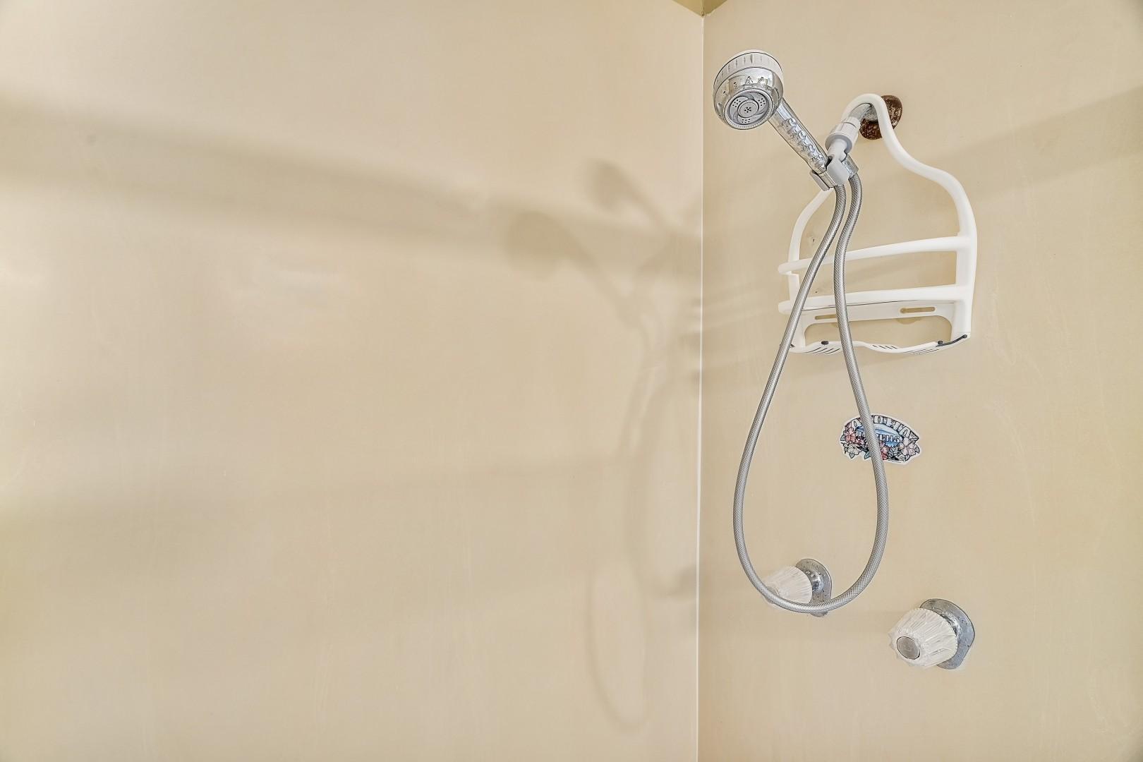 Primary tub/shower