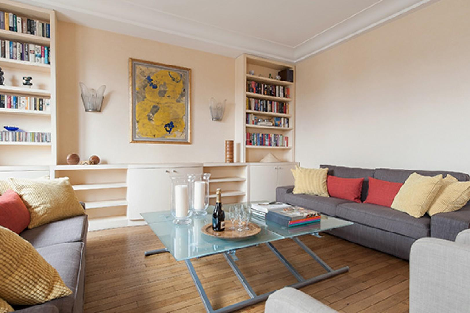 A perfect space for conversation with family and friends