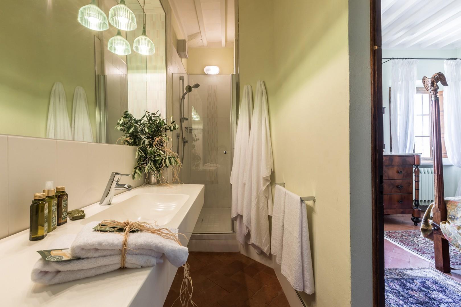 En suite bathroom to bedroom 3.