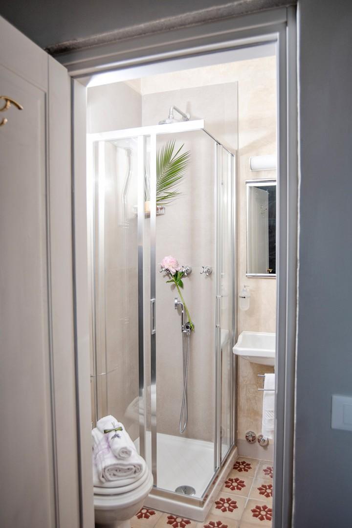 Bathroom 3 en suite to bedroom 3 with shower.