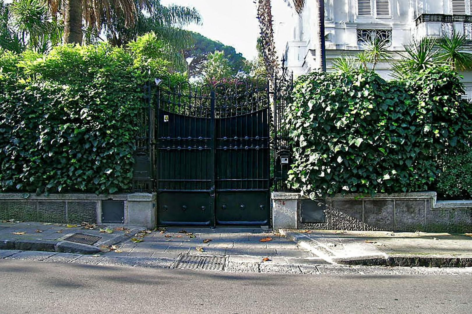 Gated entry to Luna.