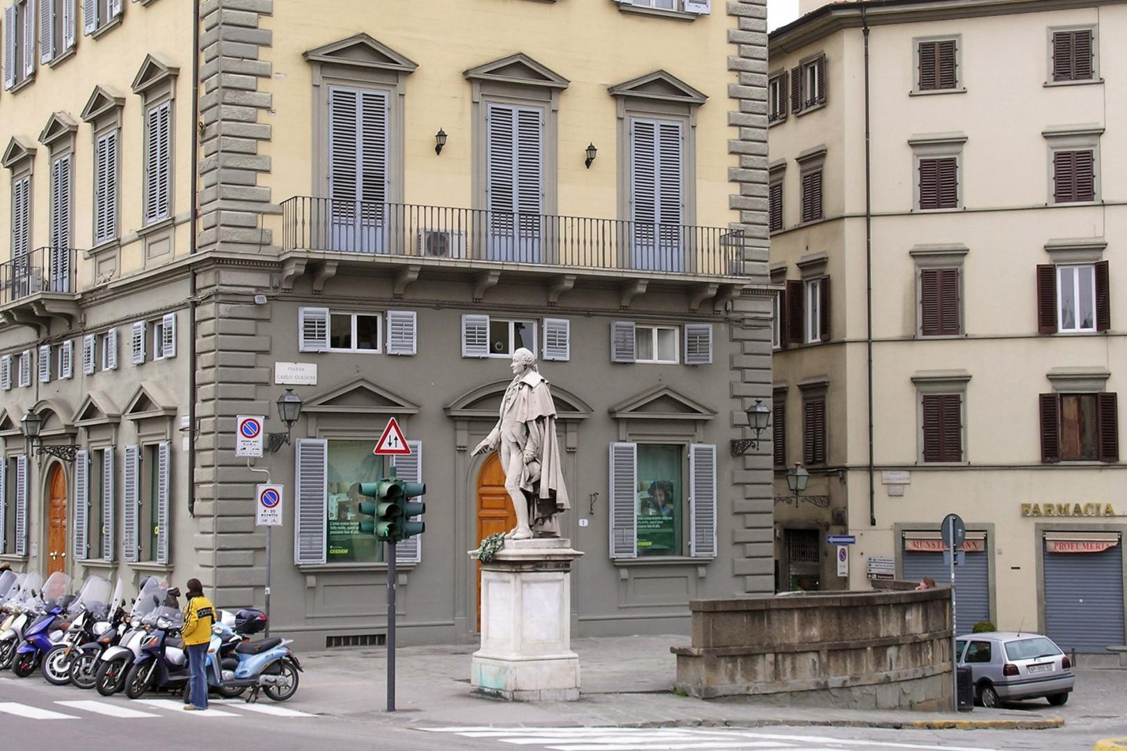 About a 10 minute walk is Piazza Goldoni, which is the start of the busier downtown area.
