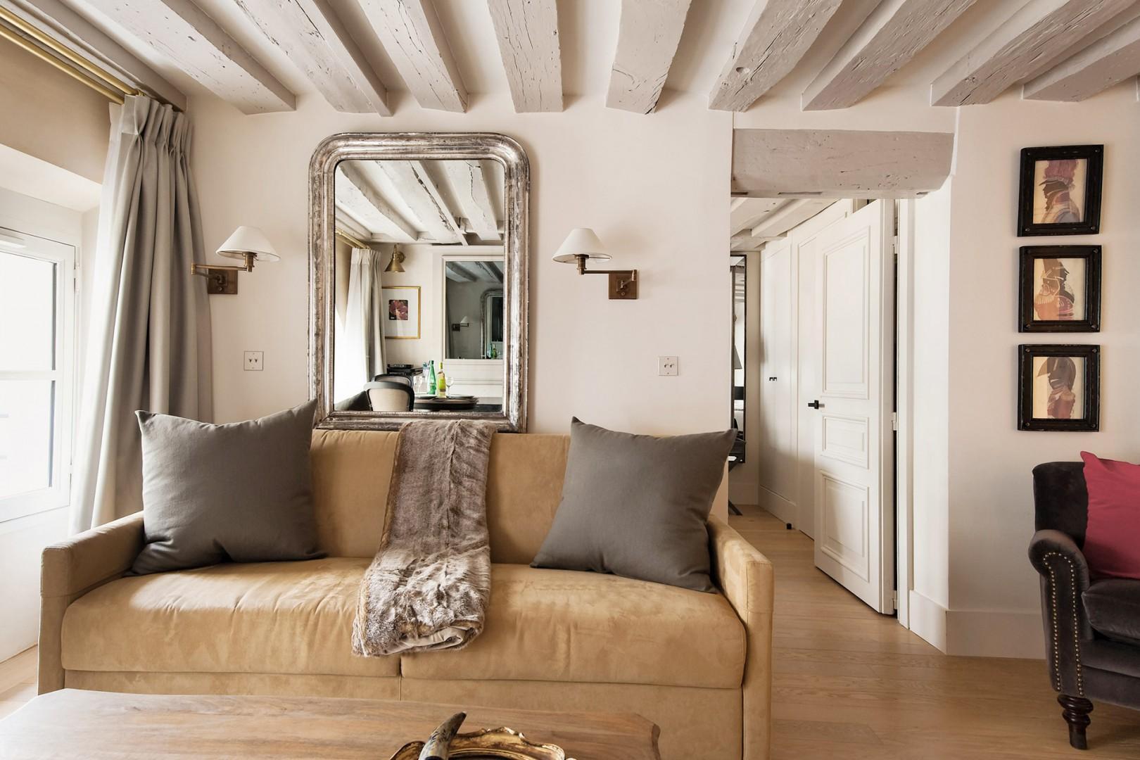 Simple, yet glamorous interiors