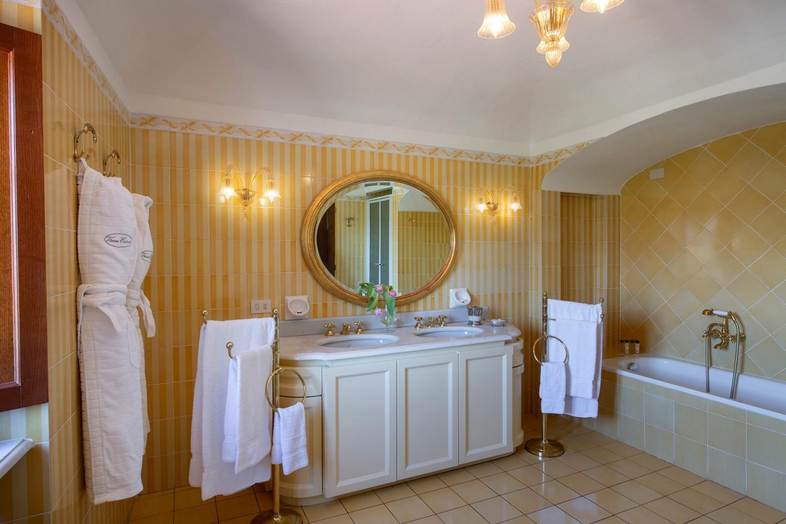 En suite bathroom to bedroom 1.