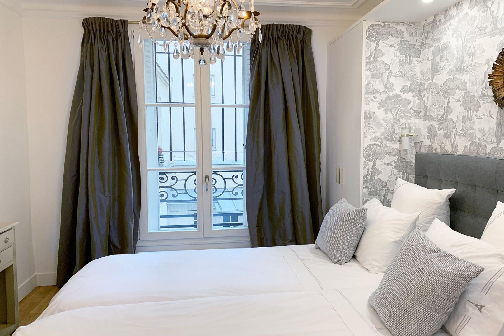 A good night's sleep is guaranteed in charming bedroom 2.